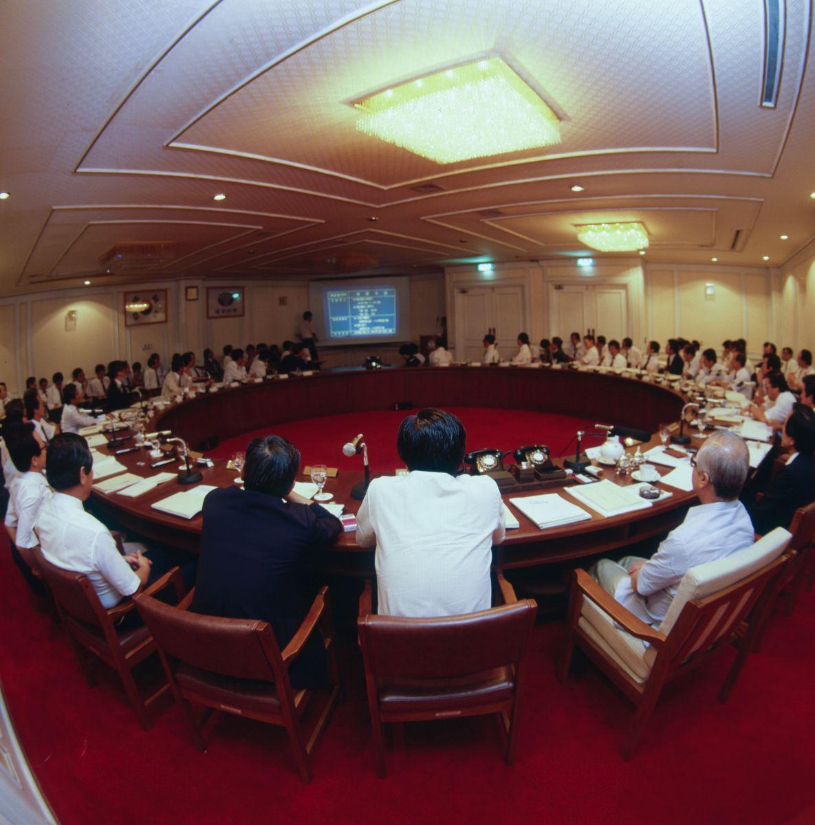 STORM '85 임원세미나 회장과의 대화